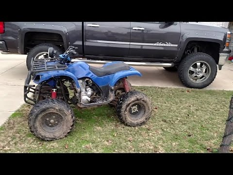 Review: TaoTao 250D atv likes and dislikes.