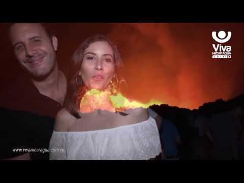 De paseo en el Volcán Masaya con Xiomara Blandino