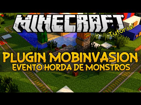 Plugin MobInvasion - Evento horda de monstros Minecraft