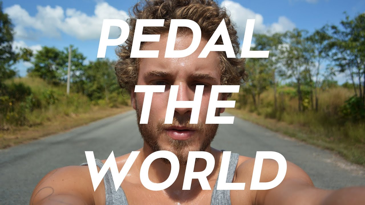 pedal the world    an adventure around the world on a bike