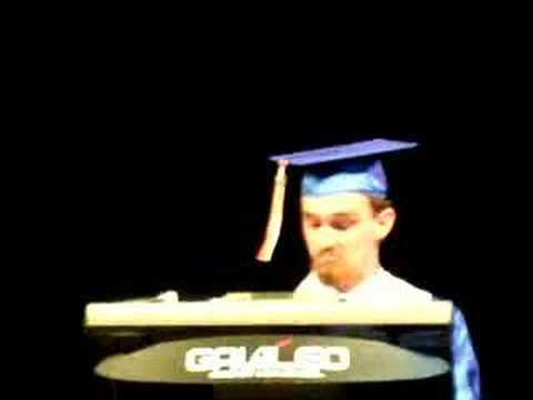 Galileo Graduation 2008 - Salutation