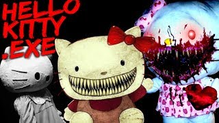HELLO KITTY HORROR?! GOODBYE KITTY.EXE [Scary Hello Kitty.exe Children Horror]