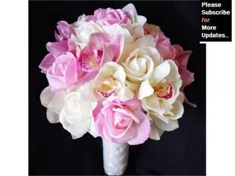 Ideas Of Pink Orchids Bouquet Romance