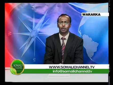 Abdullahi Hussein Maaryaa Daawo World News live from Somali channel Studios in London