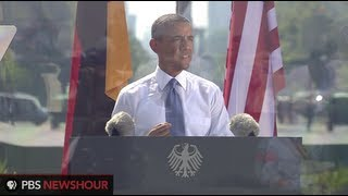 Watch Angela Merkell and Barack Obamas Remarks from Brandenburg Gate in Berlin
