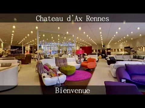 chateau d 39 ax rennes by giroptic youtube. Black Bedroom Furniture Sets. Home Design Ideas