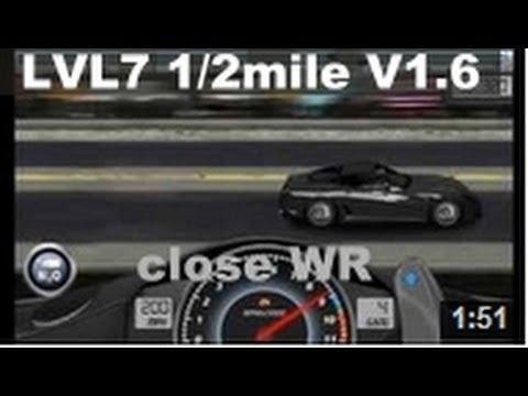Drag Racing level 7 Ferrari Novitec Rosso 599 GTB 1/2 mile tune V1.6 ...