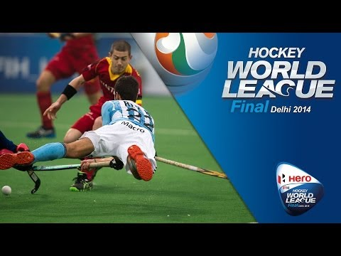Belgium vs Argentina - Men's Hero Hockey World League Final Penalty Shootout [17/1/2014]