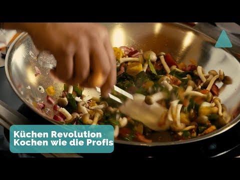 Revolution in der Küche - dieses und weitere spannende Themen im Januar bei BAUEN & WOHNEN