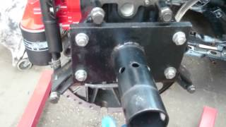 Kia Sedona Carnival 2.9 CRDi J3 engine / gearbox installation  part1