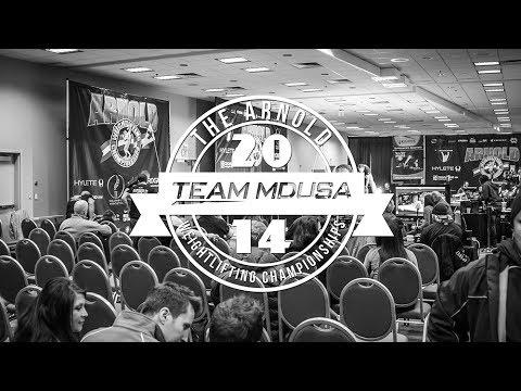 Team MDUSA | 2014 Arnold Weightlifting Championships