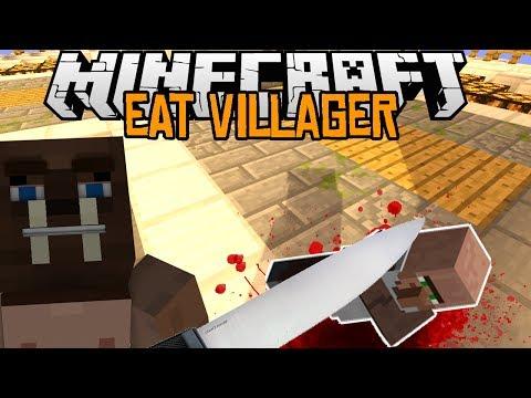 Minecraft mody 1.7.2 #83 EAT VILLAGER ZOSTAŃ KANIBALEM W MINECRAFT