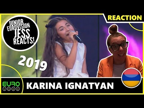 ARMENIA JUNIOR EUROVISION 2019 REACTION: Karina Ignatyan - Colours Of Your Dream | JESS REACTS!