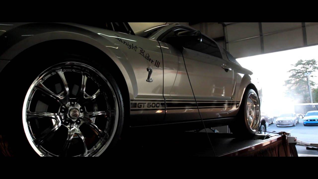Knight Rider III - 2008 Shelby Cobra GT 500 Mustang - YouTube