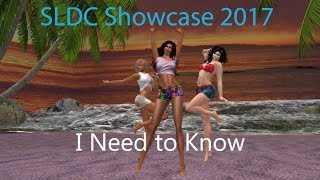 I Need to Know: SLDC Showcase 2017