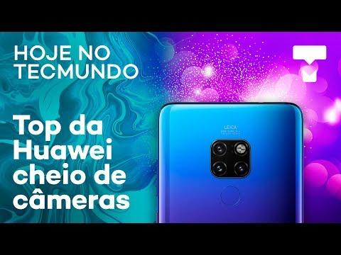 Mesa para fotos no Instagram, planos da Netflix e Huawei com zoom de 10x - Hoje no TecMundo