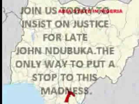 Late John Ndubuka Of Abia State Deserves Justice video
