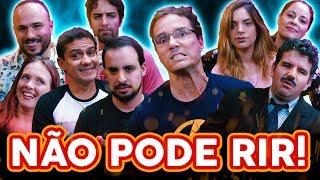 NÃO PODE RIR! com Peter Jordan, e Andreza (Ei Nerd) Marcela Lahaud e Apóstolo Arnaldo