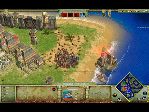 Age Of Mythology: The Titans (Острова с Рогатой Жабой) 2