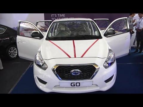 Datsun GO At Hyderabad International Auto Show 2015 - Hybiz.tv