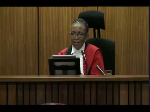 Oscar Pistorius Trial: Thursday: 11 September 2014, Session 3