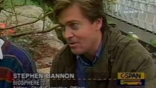 Steve Bannon 1995 at Biosphere