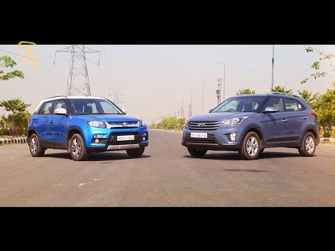 Maruti Suzuki Vitara Brezza Vs Hyundai Creta: Comparison