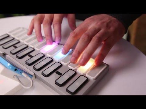 Keys Midi Controler Teaches With LEDs