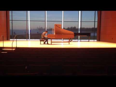 Бах Иоганн Себастьян - Фуга e-moll BWV956