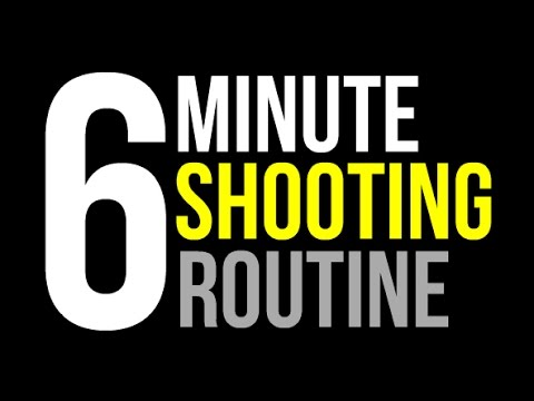 How To: Improve Shooting Form | Daily 6 Minute Form Shooting Routine | Pro Training