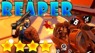 Guns of Boom #31: Reaper Level 4 already OP!! | Unstoppable