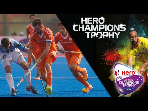 Argentina vs Netherlands - Men's Hockey Champions Trophy 2014 India 5th/6th Place [14/12/2014]