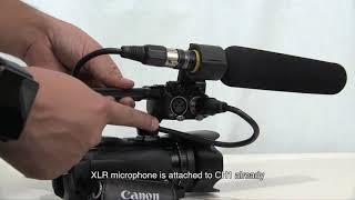 Recording Audio with the Canon XA-10