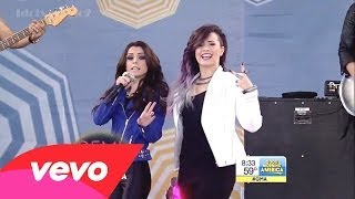 Baixar - Demi Lovato Really Don T Care Ft Cher Lloyd Live At Gma 6 6 14 Grátis