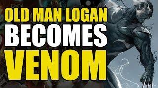 Old Man Logan Becomes Venom (Edge Of Venomverse #4)