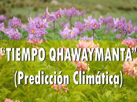 """""""Tiempo Qhawaymanta"""" (Predicción Climática)"""