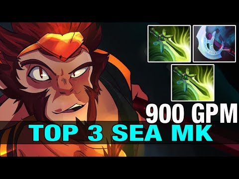TOP 3 SEA inYourdreaM Plays Monkey King With 2 butterflies - Dota 2