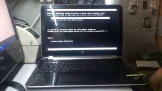HP Pavilion 15-n032sr установка Windows 7 (как установить)