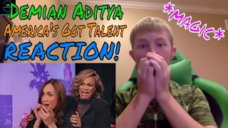 Download Lagu Demian Aditya (Escape Artist) Risks His Life on America's Got Talent REACTION! Gratis STAFABAND