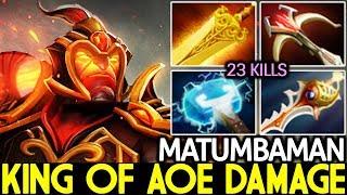 Matumbaman [Ember Spirit] King of AOE Damage Insane Plays 7.21 Dota 2