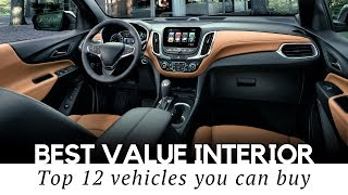 Top 12 Cars with Best Interiors for the Money: the Luxury you can Afford
