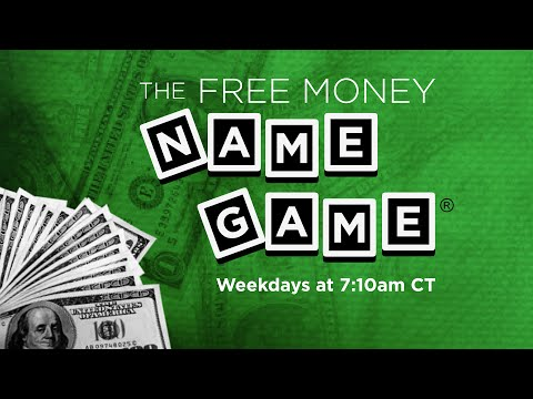 Free Money Name Game Twice A Day On 106.1 KISS FM!