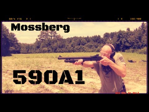 Mossberg 590A1 12ga Shotgun Review (HD)