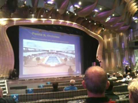 Spezzone della riunione informativa (Costa Deliziosa 20 Giugno 2010 Copenhagen)