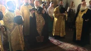 Схиархимандрит Власий на литии 15.08.2015