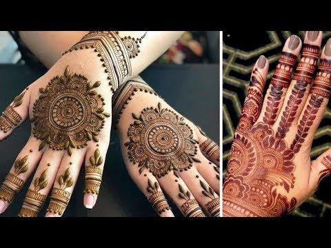 Easy / Latest Jewellery Mehndi Design | Unique Henna Designs | Latest Mehndi Designs | 2018