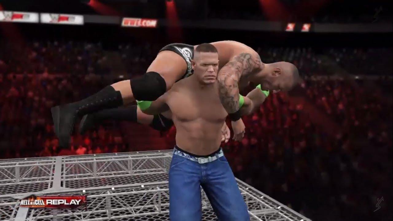 Wwe 2k15 Randy Orton vs John Cena Wwe 2k15 John Cena vs Randy