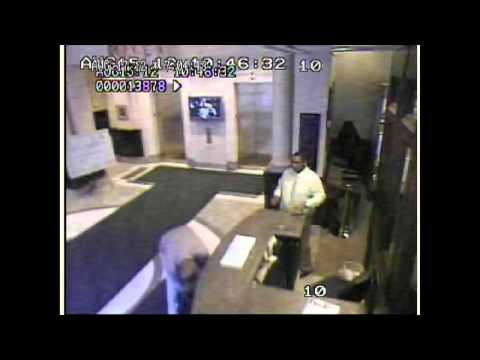Security footage: Hero thwarts terrorist (Floyd Corkins) shooter at Family Research Council