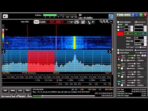 MW DX: Radio Gotel Yola 917 kHz from Nigeria received in Germany on Elad FDM-S2