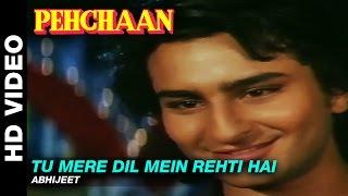 Tu Mere Dil Mein Rehti Hai - Pehchaan | Abhijeet | Saif Ali Khan & Madhoo